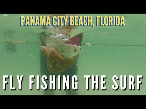 Fly Fishing The SURF!! **(PCB, Florida)**