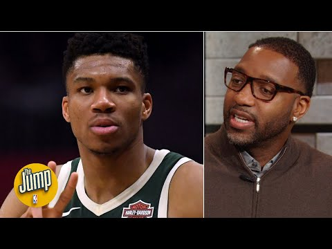 'It's over for the league!' - Tracy McGrady on if Giannis keeps making 3s | The Jump