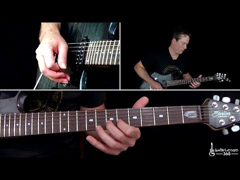 Dancing with Myself Guitar Lesson - Billy Idol mp3