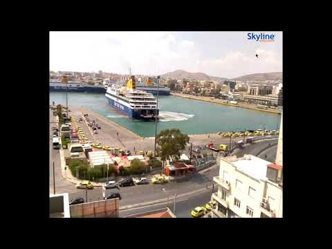 Piraeus Port Blue Star Ferry
