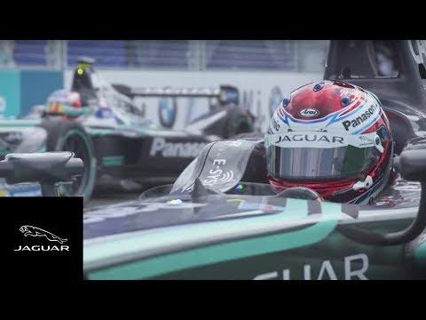 Panasonic Jaguar Racing | Formula E New York City Race One Highlights