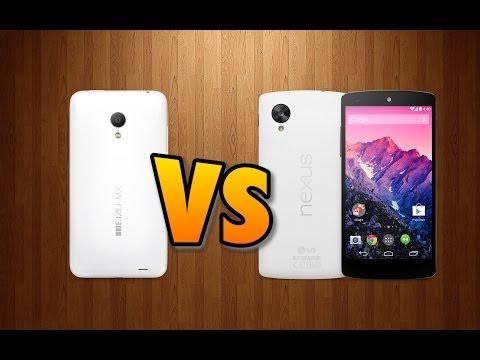 Meizu MX3 VS Nexus 5 (cámaras)