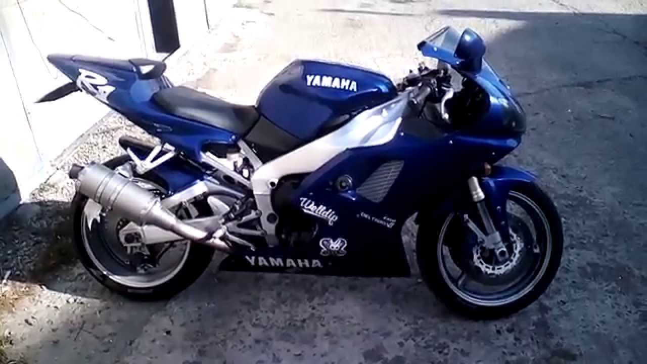 Yamaha yzf r1 2001 youtube for Yamaha parts pit stop