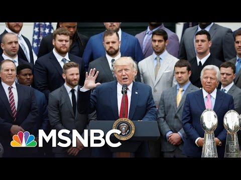Tom Brady And Other Patriots Skip Visit To White House | MSNBC