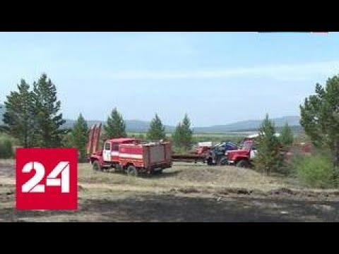 На тушение лесных пожаров стягивают дополнительные силы МЧС