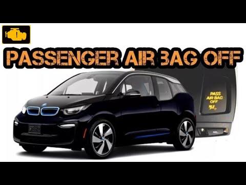 Passenger airbag OFF Bmw i3 - dezaktywacja poduszki powietrznej pasażera Bmw i3