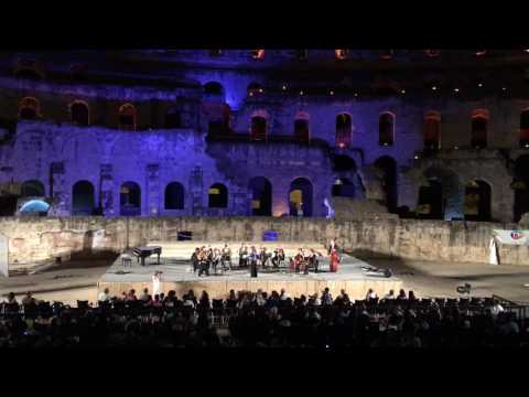 Madrid Orchestra in El Jem Amphitheater