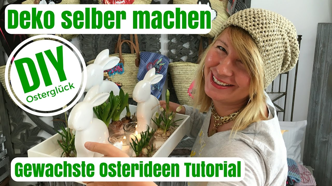 diy deko ideen selber machen gewachste osterideen von imke riedebusch viyoutube. Black Bedroom Furniture Sets. Home Design Ideas