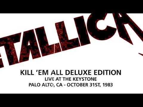Metallica - Live at The Keystone, Palo Alto, CA (1983) [SBD Audio]
