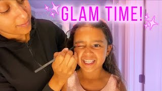 It is time for a girls takeover!! tamera and ariah are having some mother-daughter glam playing with makeup while the boys at winery, it...