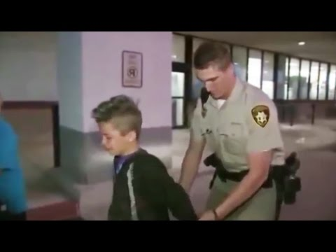 kid gets arrested playing GTA 5 (YOU WONT BELIEVE WHAT HAPPENS)