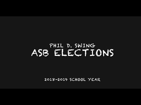 2018-2019 Phil Swing ASB Speeches