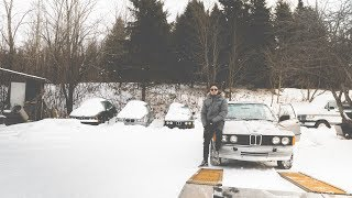Abandoned Classic BMW + 240sx update