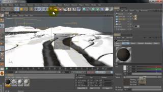 Cinema 4D tutorial: Snow Land