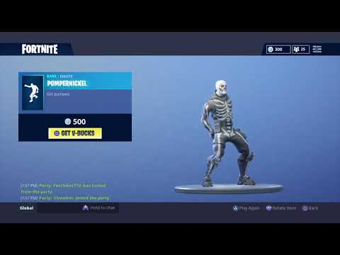 Fortnite free account giveaway with skull trooper