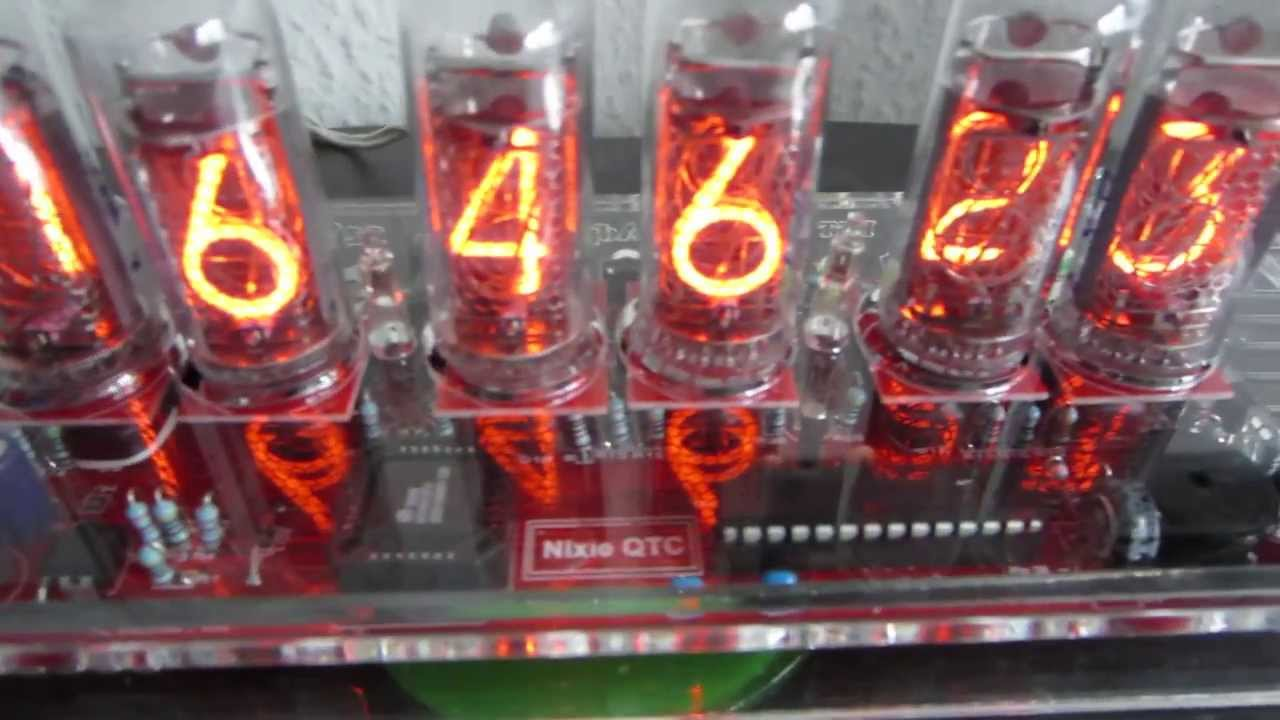 Nixie QTC Clock Kit With IN 14 Tubes From Pvelectronicscouk