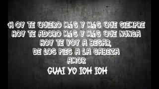 Maná ft.Nicky jam-De pies a cabeza-letra(lyric)