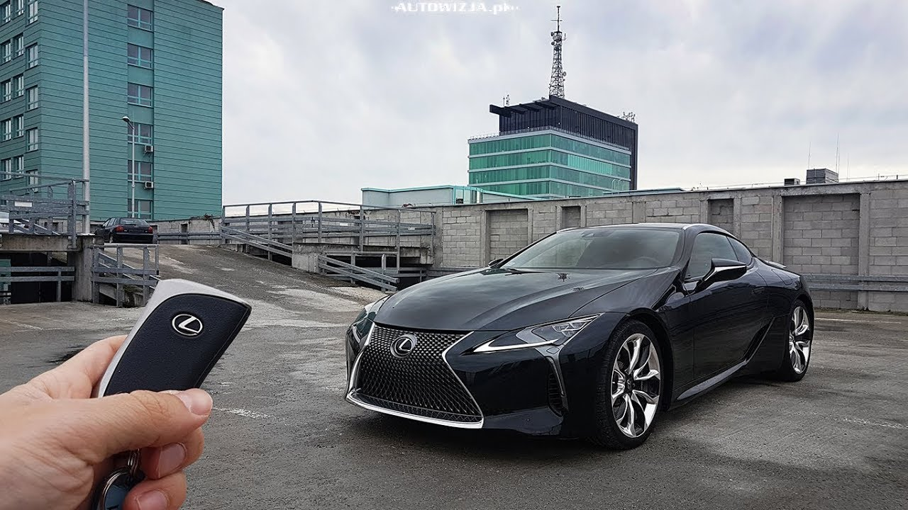 מדהים Lexus LC 500 5.0 V8 477 hp TEST POV Drive & Walkaround English XE-15