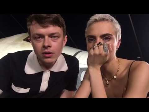 Dane DeHaan and Cara Delevingne LIVE on Facebook
