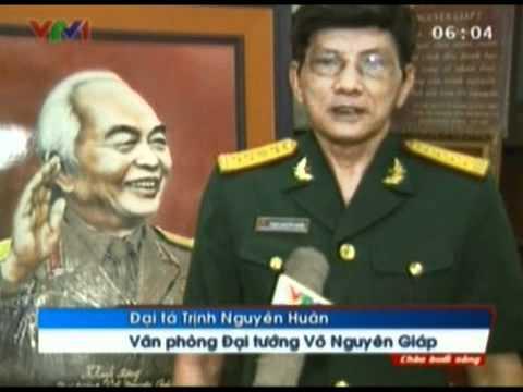Mừng thọ đại tướng Võ Nguyên Giáp tròn 100 tuổi