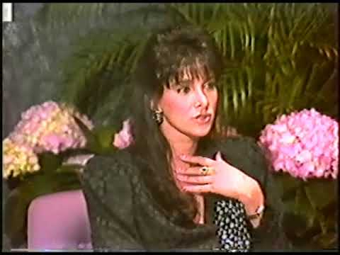 Connie Sellecca visits Lakeside Mall 1987