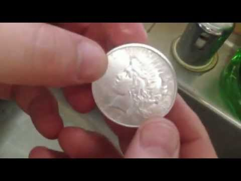 How To Clean Silver Coins/Bars/Dishes