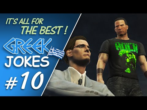 GREEK JOKES #10 IT'S ALL FOR THE BEST !【 A Fallout 4 Machinima 】