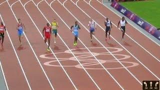Olympic Men's 400m Semi Final  London 2012 Olympic Games