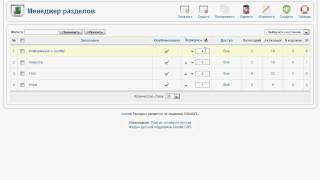 Менеджер разделов в Joomla CMS (14/48)