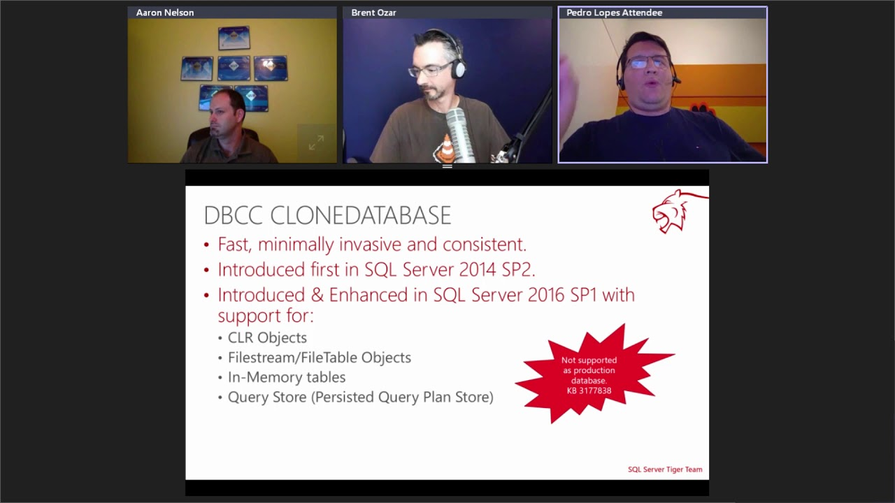 Enhancements that will make your SQL database engine roar – 2016 SP1