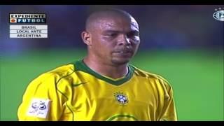 Download Video RECUERDO!! BRASIL 3 ARGENTINA 1 - 3 GOLES DE RONALDO - 2004 MP3 3GP MP4