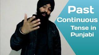 Past Continuous Tense in Punjabi   Learn Punjabi Language