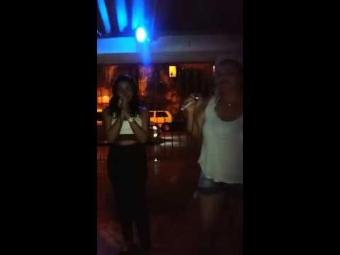 Karaoke... Gaby e Prada Piatezi