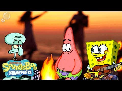 SpongeBob Squarepants | 'The Campfire Song' Wild Remix | Nick