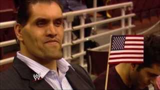 The Great Khali becomes a U.S. Citizen