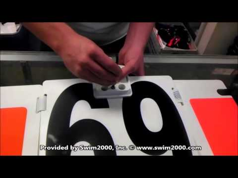 How To Assemble A Swimming Lap Counter
