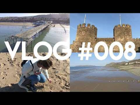 Vlog #008 - Spring Weather, A Trip To Wales & A Collapsed Pier