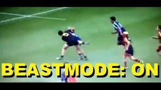 12 year old kid - Rugby Beastmode - Dante Fruean