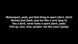 migos nicki minaj caŗdi b - motorsport lyrics