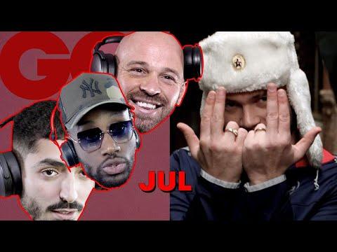 Youtube: Jul jugé par le rap français (S.Pri Noir, Sneazzy, Dabs, Franck Gastambide et Jhon Rachid) | GQ