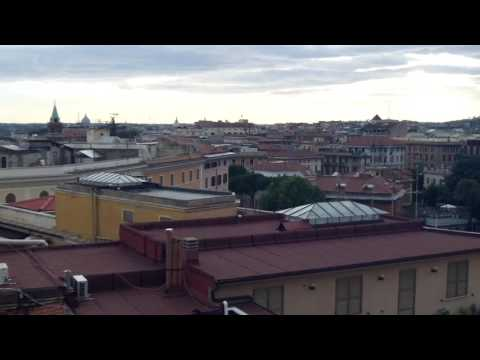 First day in Rome, View from the Hotel Marcella Royal