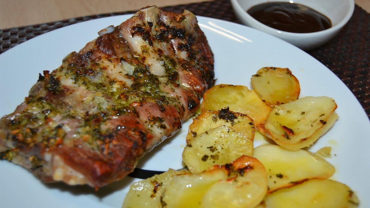 costillas con patatas al horno doovi