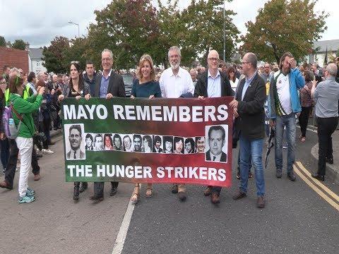 National Hunger Strike Rally, Ballina, Co. Mayo