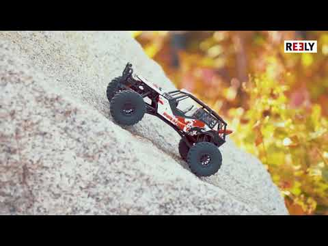 Reely Free Men Brushed 1:10 RC Modellauto Elektro Crawler 4 WD Super Combo RTR