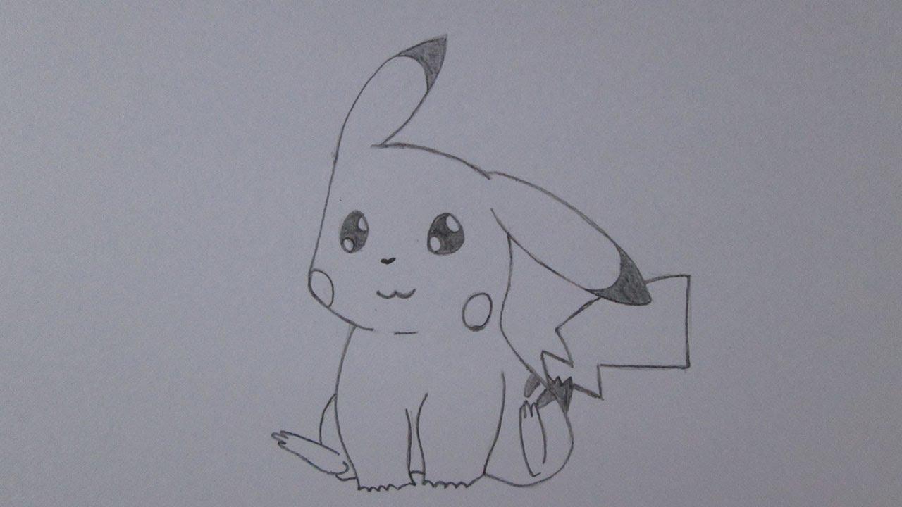 Como Desenhar Coisa Amorosa: Como Desenhar O Pikachu De Pokémon