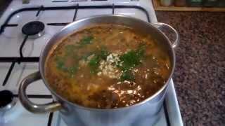 Готовим суп харчо