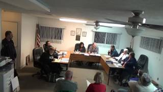 10/5/15 Village of Holiday Hills Board Meeting