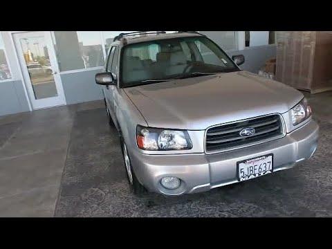 2004 Subaru Forester 2.5XS Sacramento  Roseville  Elk Grove  Folsom  Woodland