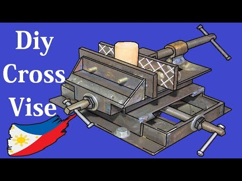 DIY Cross Vise Using Angle Bar