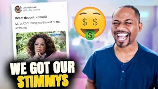 when that $1400 direct deposit hits | 40 FUNNY TWEETS | Alonzo Lerone